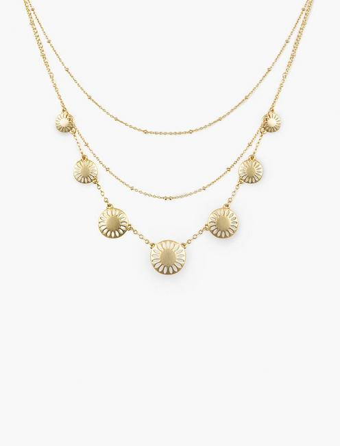 TWO LAYER COLLAR NECKLACE,