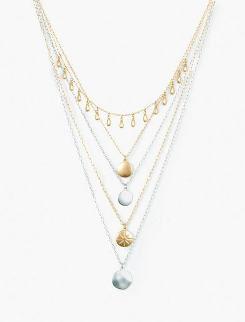 LAYER CIRCLE NECKLACE,