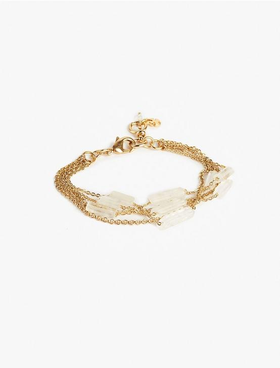 CRYSTAL WRAP BRACELET, GOLD, productTileDesktop