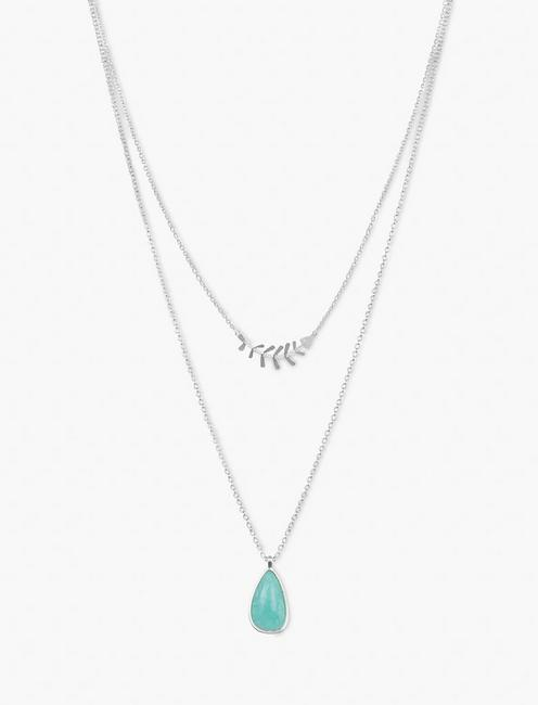 FISH LAYERED NECKLACE,