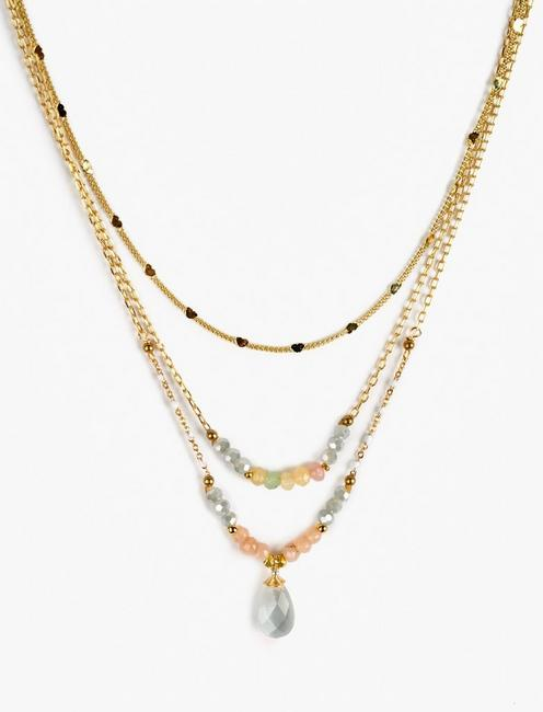 DELICATE LAYER NECKLACE,