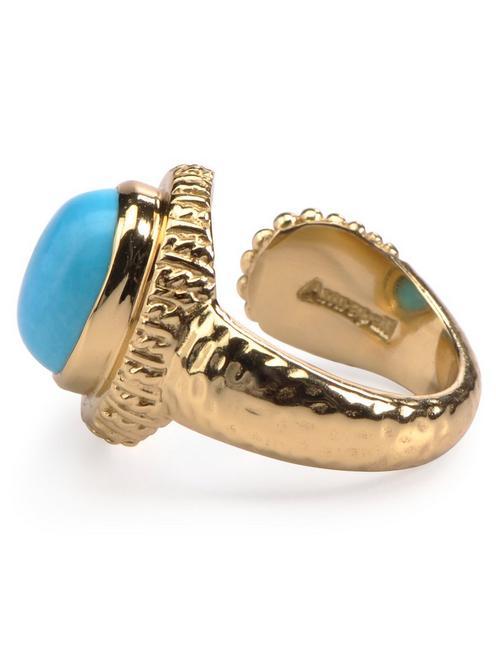 TURQ RING, 715 GOLD