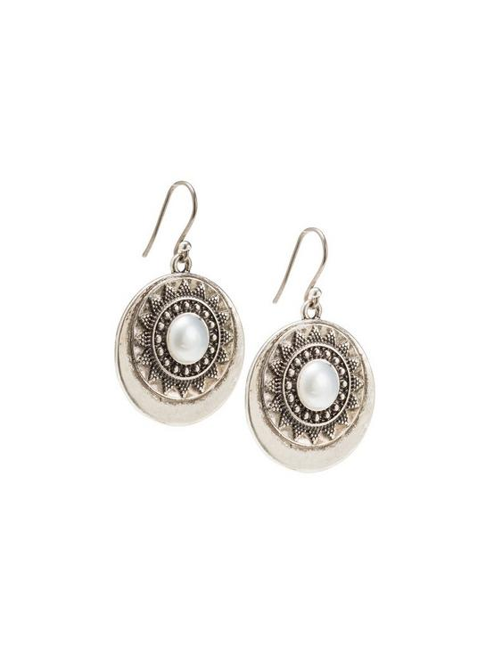 BALI EARRINGS, SILVER, productTileDesktop