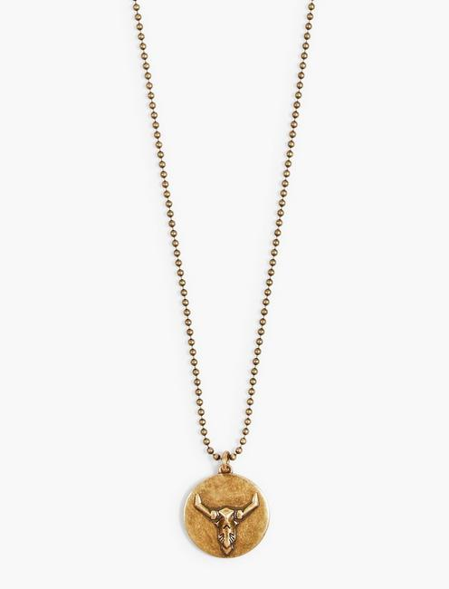BULL NECKLACE, GOLD