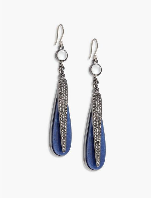 PAVE STATEMENT EARRING,