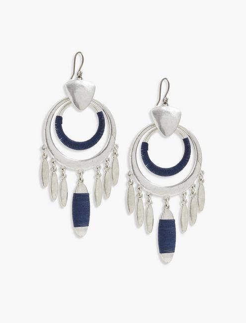 WRAPPED DRAMA EARRING,