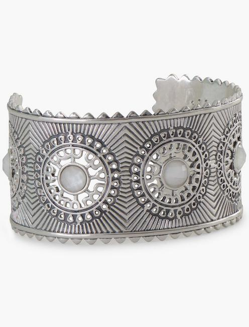 WHITE STONE STATEMENT CUFF,