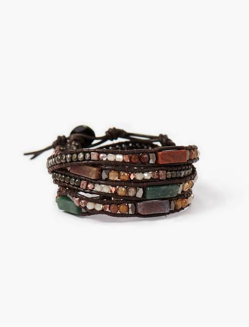 WRAPPED LEATHER BRACELET,