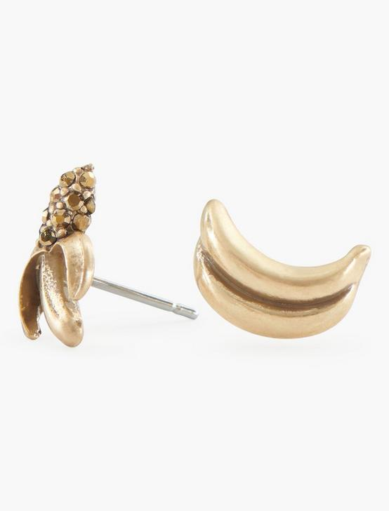 BANANAS STUD SET, GOLD, productTileDesktop