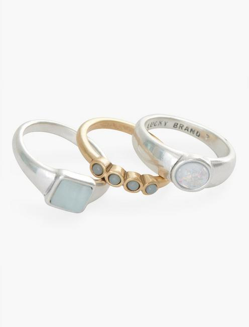 Set Stone Ring Stack