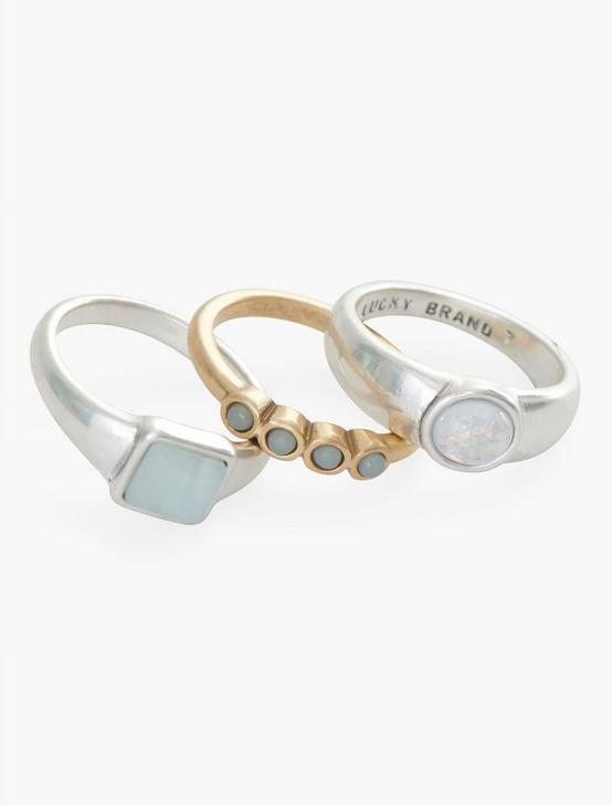 SET STONE RING STACK, TWO TONE, productTileDesktop