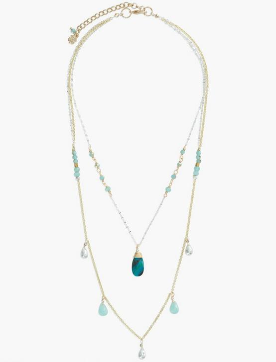 Layer Turq Necklace