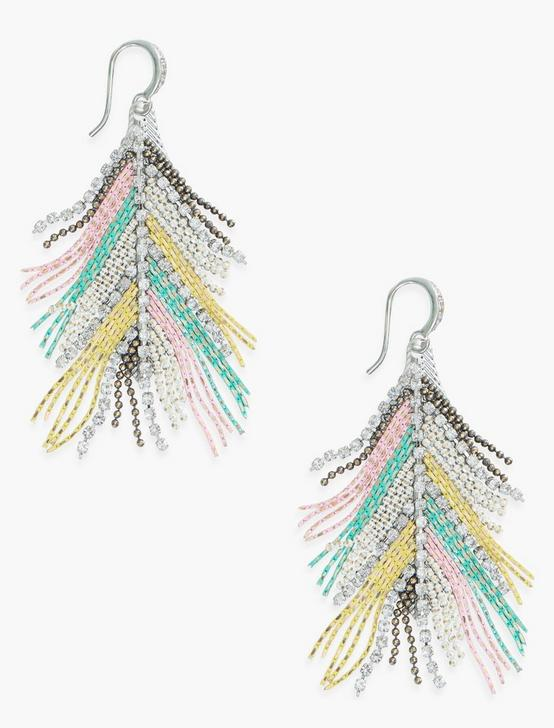 RAINBOW EARRING, SILVER, productTileDesktop