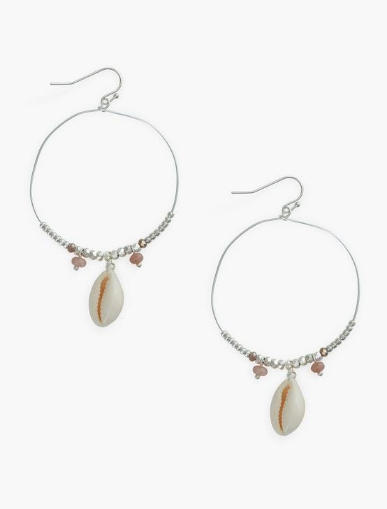 SHELL HOOPS, SILVER, productTileDesktop