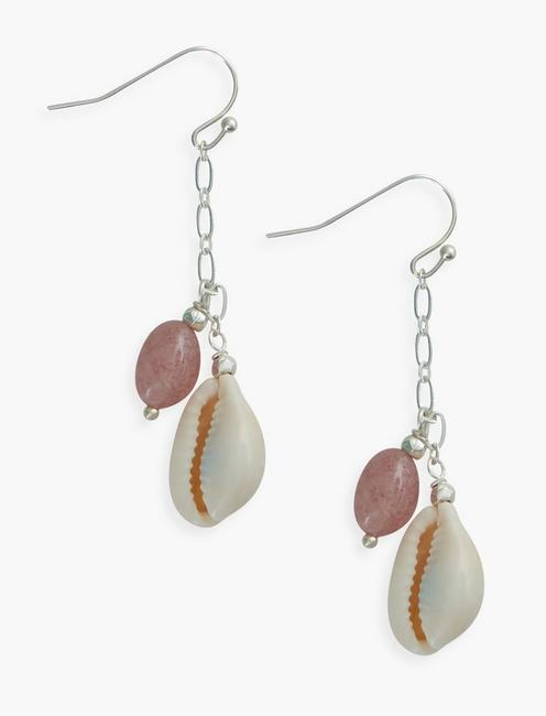 SHELL DROP, SILVER