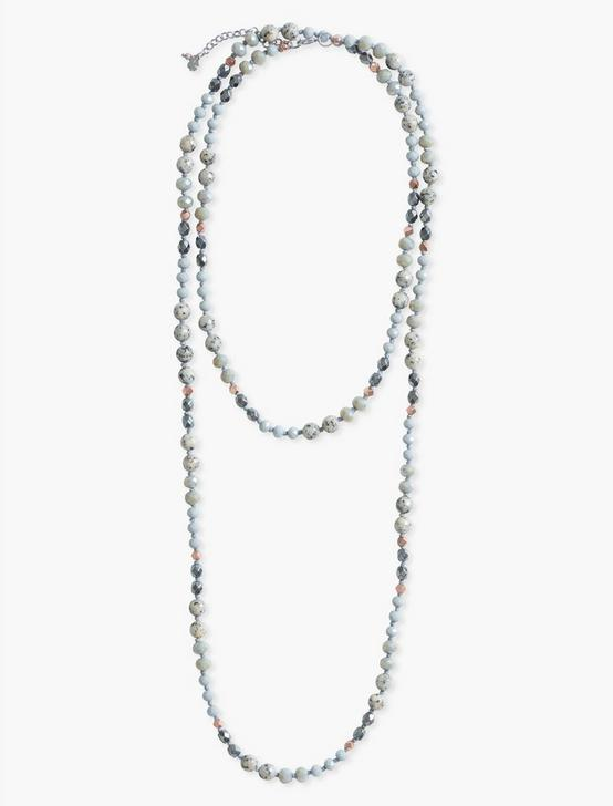 Beaded Necklace, TWO TONE, productTileDesktop
