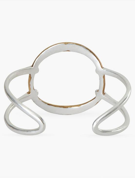 MODERN CIRCLE CUFF, TWO TONE, productTileDesktop