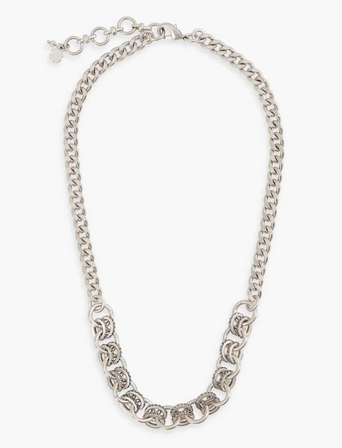 PAVE CHAIN NECKLACE,