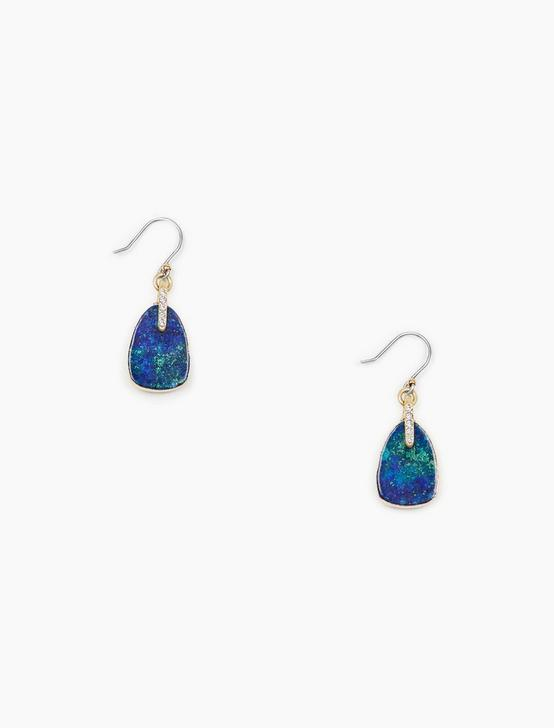 STONE DROP EARRINGS, , productTileDesktop