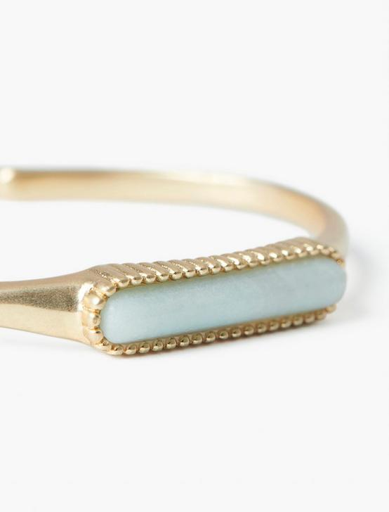 LONG STONE CUFF, GOLD, productTileDesktop
