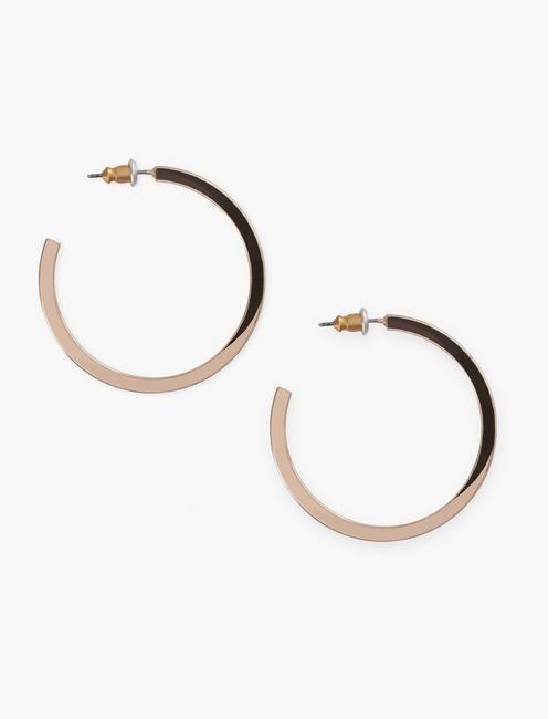 Square Hoop Earrings,