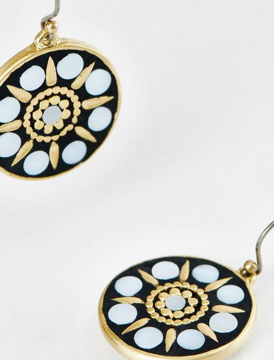 GOLD AND MOP INLAY DROPS, GOLD, productTileDesktop