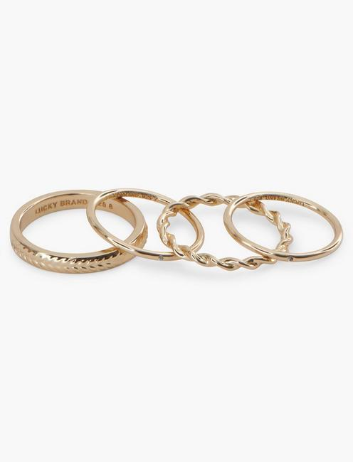 STERLING SILVER PAVE RING SET,