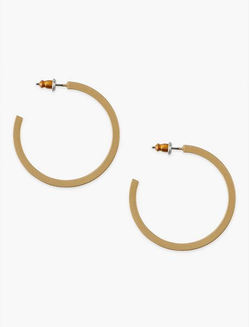 Square Hoop Gold,