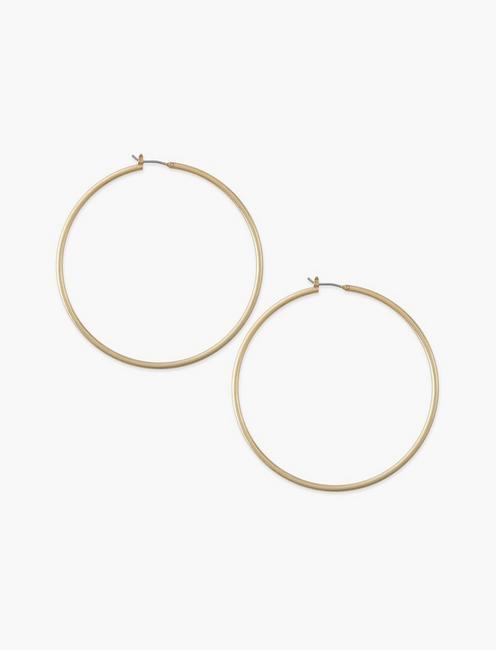 Large Skinny Hoop Gold, GOLD