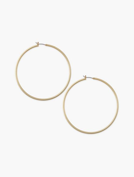 Large Skinny Hoop Gold, GOLD, productTileDesktop