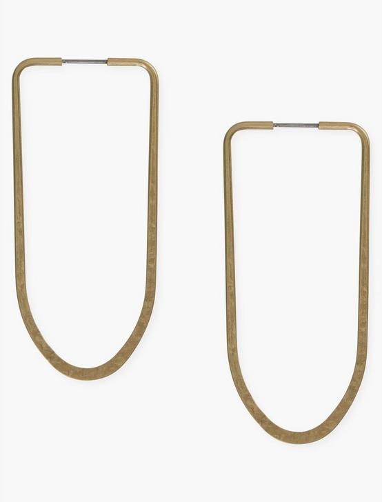 GOLD LONG HOOPS, GOLD, productTileDesktop