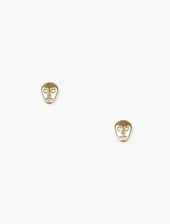 SKULL STUDS, GOLD, productTileDesktop