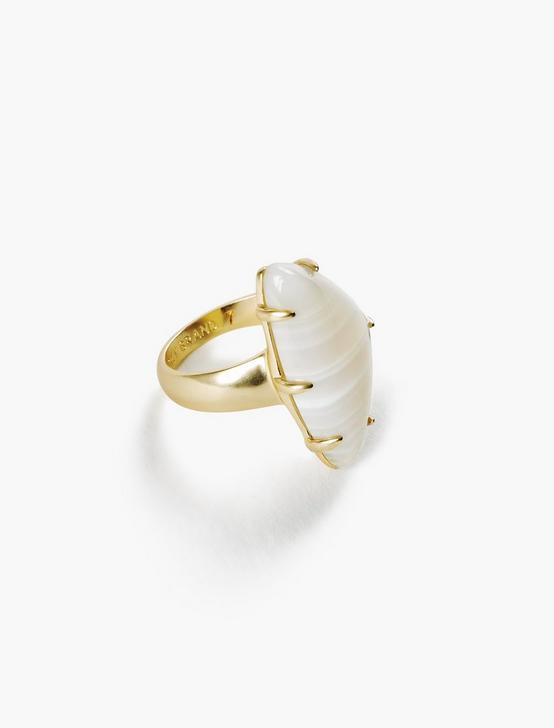 STATEMENT STONE RING, GOLD, productTileDesktop