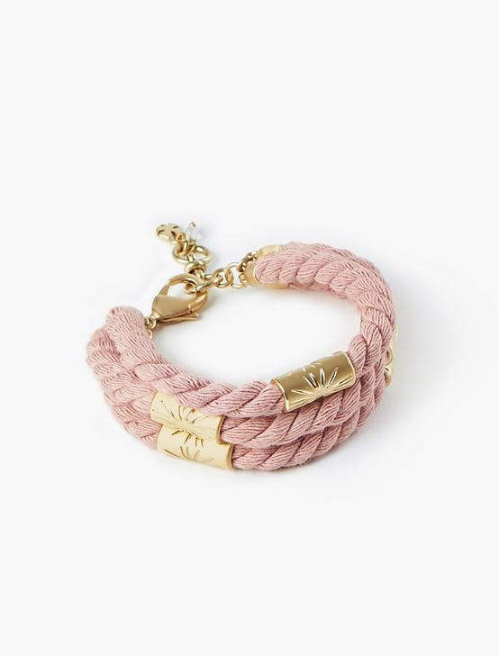 ROPE BRACELET, GOLD, productTileDesktop