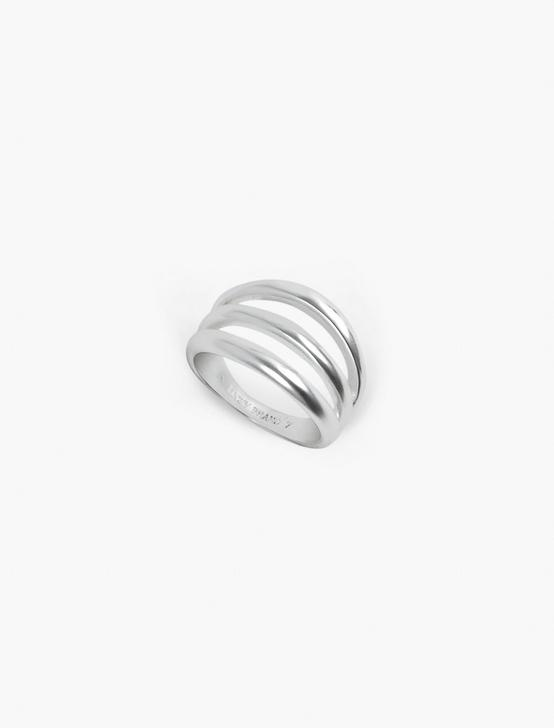 SPLIT DOUBLE RING, SILVER, productTileDesktop