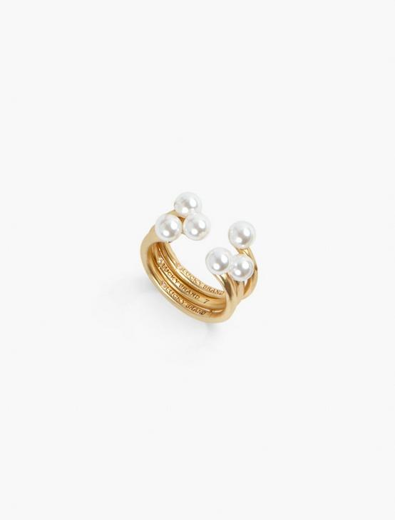 ADJUSTABLE STACK RING SET, GOLD, productTileDesktop