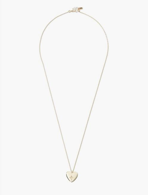 HEART DELICATE NECKLACE, GOLD