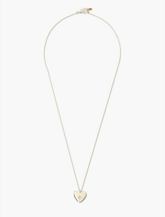 HEART DELICATE NECKLACE, GOLD, productTileDesktop