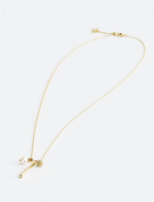 CHARM DELICATE NECKLACE, GOLD
