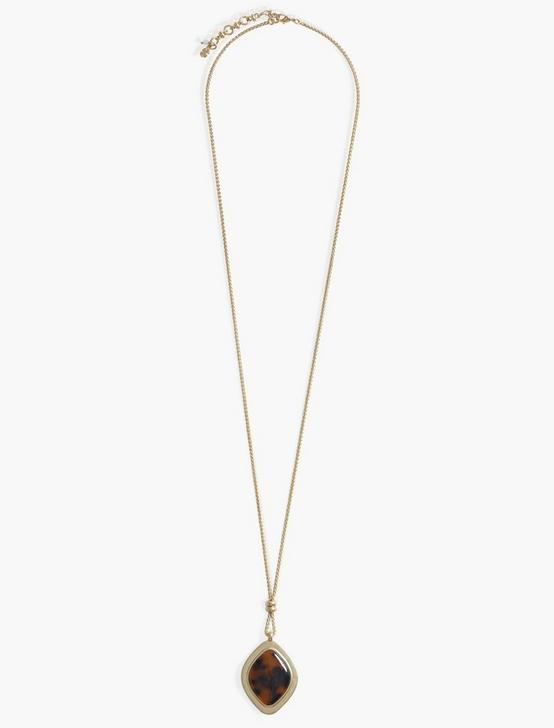 Tortoise Reversible Pendant, GOLD, productTileDesktop