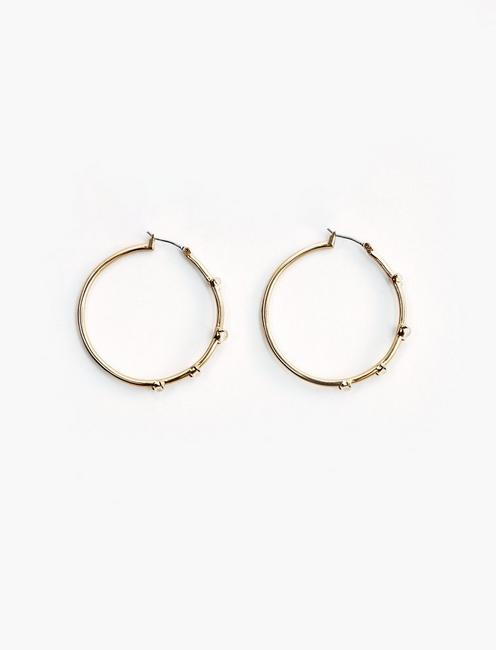 Mother of Pearl Hoop Set,