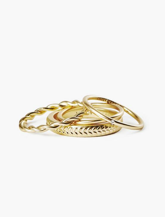 PAVE RING SET, GOLD, productTileDesktop
