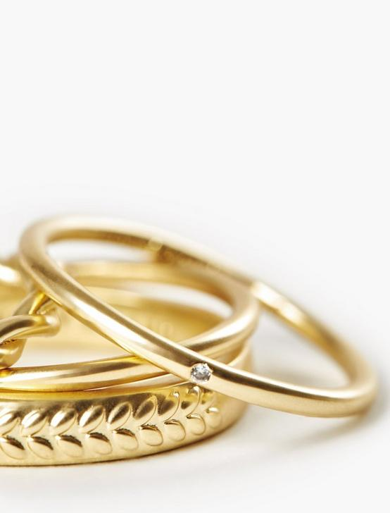 PAVE RING SET, GOLD, productTileDesktop