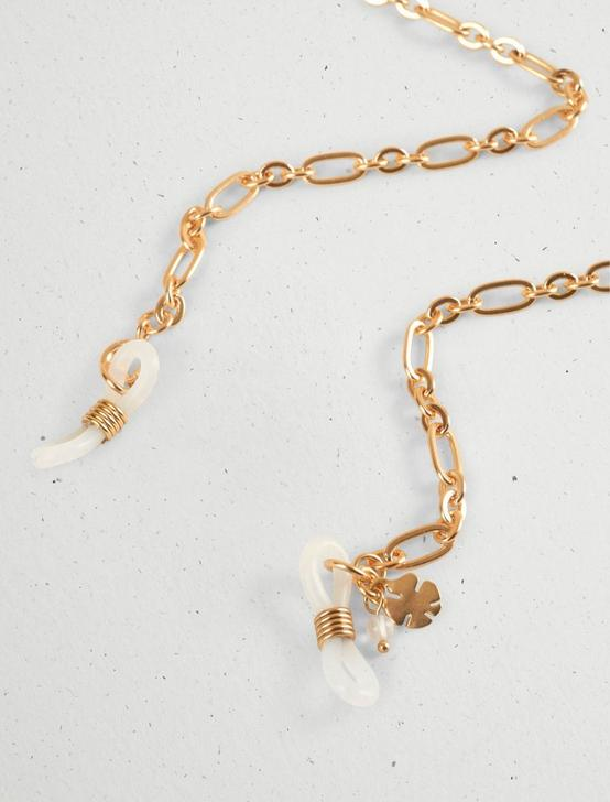 CONVERTIBLE SUNNY CHAIN AND NECKLACE, GOLD, productTileDesktop
