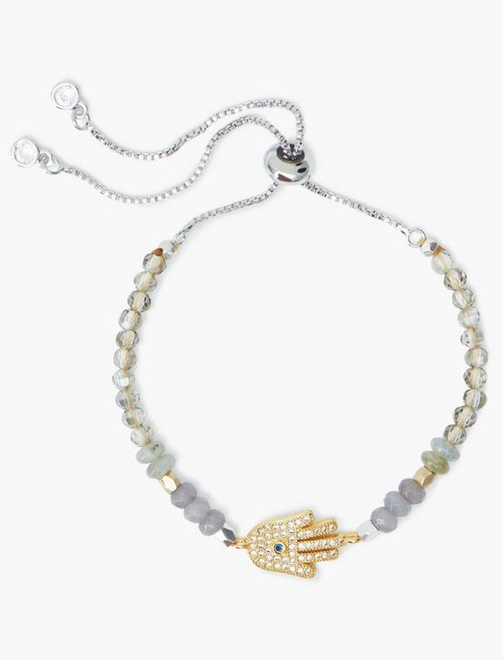 HAMSA BRACELET, TWO TONE, productTileDesktop