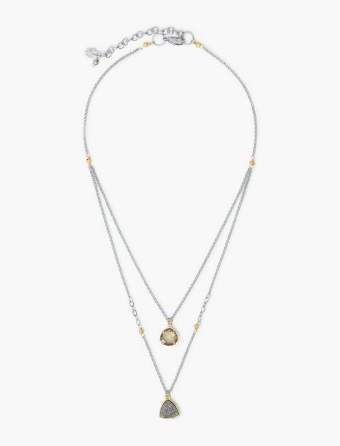 Druzy Layer Necklace,