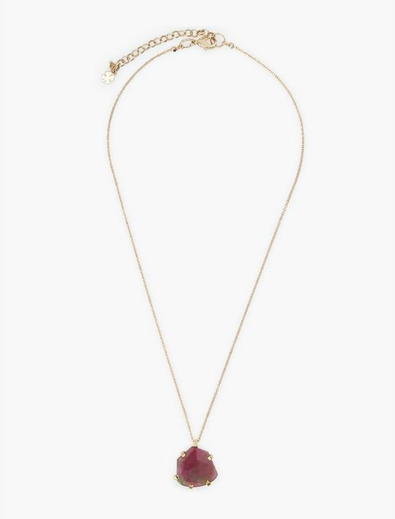 Tourmaline Pendant, GOLD, productTileDesktop