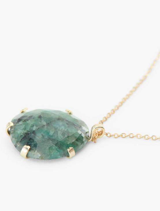 Emerald Pendant, GOLD, productTileDesktop