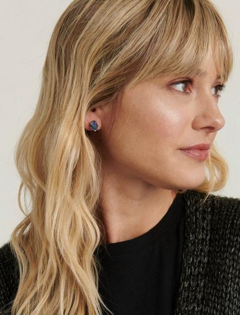 Kyanite Earring, GOLD