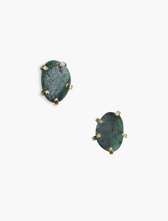 Emerald Earring, GOLD, productTileDesktop